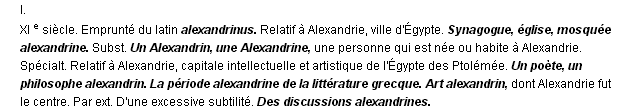 alexandrin  la d u00e9finition du terme  u0026quot alexandrin u0026quot