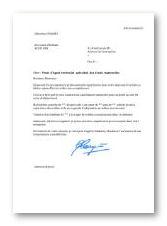 lettre de motivation Agent territorial spécialisé des écoles maternelles