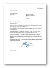 lettre de motivation agent de tri courrier