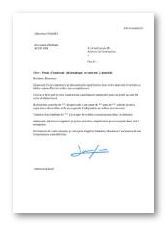 lettre de motivation internet Modèle et exemple de lettre de motivation : Assistant informatique  lettre de motivation internet