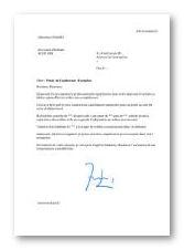 Modèles de lettres pour Cv chauffeur livreur  Le Monde