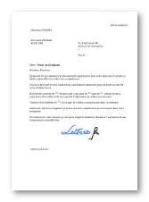modele lettre de motivation gendarmerie