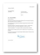 lettre de motivation horlogerie