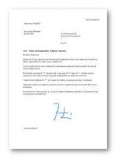 Modele Et Exemple De Lettre De Motivation Responsable D Agence