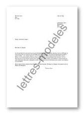 Modele Et Exemple De Lettres Type A Un Depute Demande D Un Appui