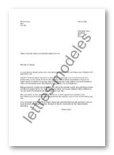 Modele lettre demande de logement urgent