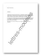 lettre achat terrain