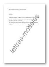 Exemple De Lettre De Procuration Pour Solde De Tout Compte