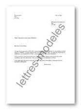 lettre type demande de degrevement taxe d habitation