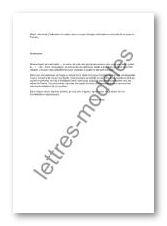 Modele Et Exemple De Lettres Type Demande D Asile A Un Consulat