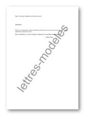 Modele Et Exemple De Lettres Type Demande D Attestation De