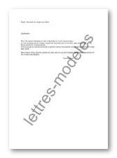 Modele Et Exemple De Lettres Type Demande De Conge Sans Solde