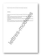 Modele Et Exemple De Lettres Type Demande De Paiement De L