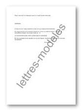 Modele Et Exemple De Lettres Type Demande De Reintegration Apres Un Conge Parental D Education