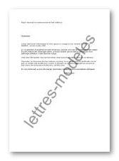 Mod le et exemple de lettres type demande de remboursement de frais m dicaux - Lettre de demande de remboursement ...