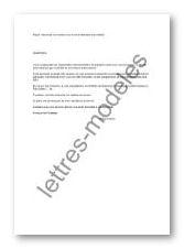 lettre demande de rendez vous directeur