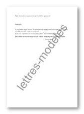Mod le et exemple de lettres type demande de renseignements pour l 39 acha - Frais pour achat appartement ...
