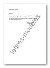 lettre demande de sponsoring
