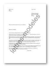 lettre type demande de subvention