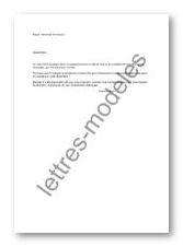 Mod le et exemple de lettres type demande de travaux for Travaux dans un appartement