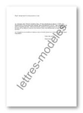 lettre de desistement d un cheque