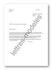 Modele lettre mariage civil