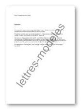 Modele Et Exemple De Lettres Type Engagement D Un Artiste