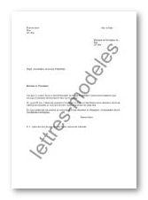 modele lettre exoneration taxe habitation