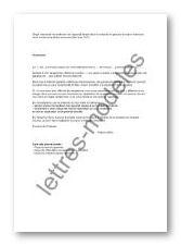 Mod le et exemple de lettres type garantie mise en demeure apr s refus re - Mise en demeure restitution caution ...
