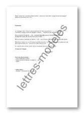 Modèle de lettre type - indemnisation - rappel demande paiement