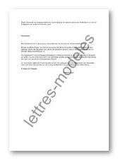 Modele Et Exemple De Lettres Type Integrer Un Centre De Formation