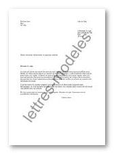 Modèle de lettre type - intervention du juge pour enfants