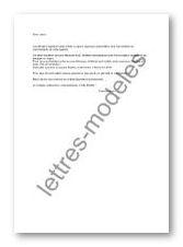 Modèle de lettre type - Invitation à un repas de quartier
