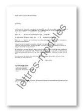 Modele Et Exemple De Lettres Type Juge Aux Affaires Familiales