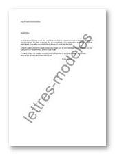 Exemple De Courrier Recommande Lettre De Candidature Emploi Degisco