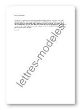 Modele lettre anniversaire de rencontre