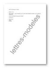 lettre type de depart en retraite