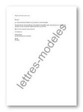 modele de lettre pour demande de rendez vous