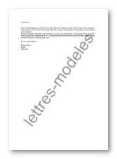 lettre type prospection client