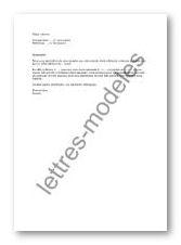 Mod 232 le et exemple de lettres type mail relance