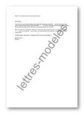 Modele Et Exemple De Lettres Type Mail Renouvellement D Une