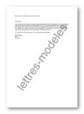 Modele Et Exemple De Lettres Type Mail Reponse A Une Demande D