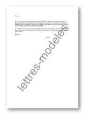 Modele Et Exemple De Lettres Type Maladie Grave