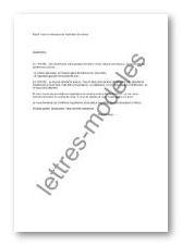 Mod le et exemple de lettres type mise en demeure de restitution de voiture - Mise en demeure restitution caution ...