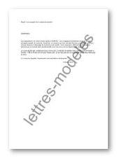 Modèle de lettre gratuit, lettre type et contrat, actualité juridique et