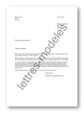 exemple de lettre de demande de parrainage