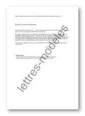 Modele procuration depot de plainte document online for Annulation offre d achat maison