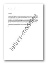 Mod le et exemple de lettres type pr t immobilier ren gociation 2 - Documents pret immobilier ...