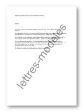 Modele Et Exemple De Lettres Type Proposition Divorce Par