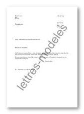 modele lettre rattachement foyer fiscal